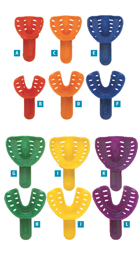 Disposable Orthodontic Impression Trays